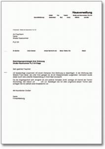 Haus Kündigung Schreiben : musterbriefe ~ Lizthompson.info Haus und Dekorationen