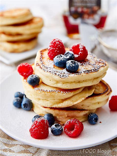homemade buttermilk pancakes  food blogger