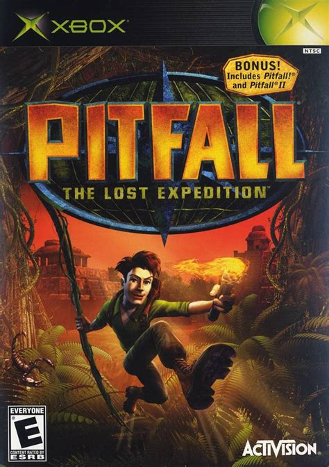 pitfall  lost expedition xbox