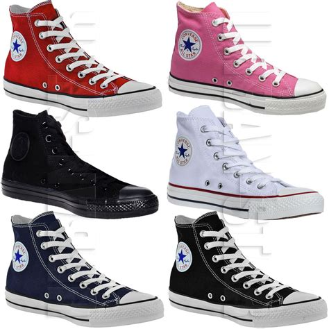 High Top by Converse All Hi Tops Mens Womens Unisex High Tops