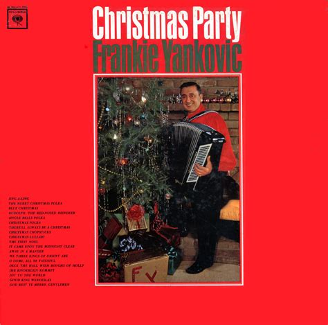 christmas party cd frankie yankovic cd vinyl record lp albums on cd and mp3