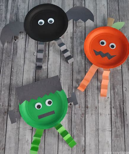 23 Easy Diy Halloween Crafts For Toddlers Onechitecture