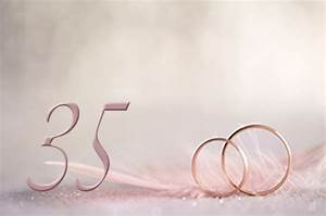 35th year wedding anniversary gifts and ideas coral With 35th wedding anniversary symbol