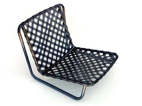 brown sand chair mid century modern patio low