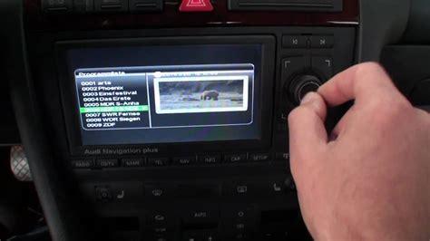 audi a6 navigation plus rns e mit dvd player dvb t r 252 ckfahrkamera multimedia by conexx