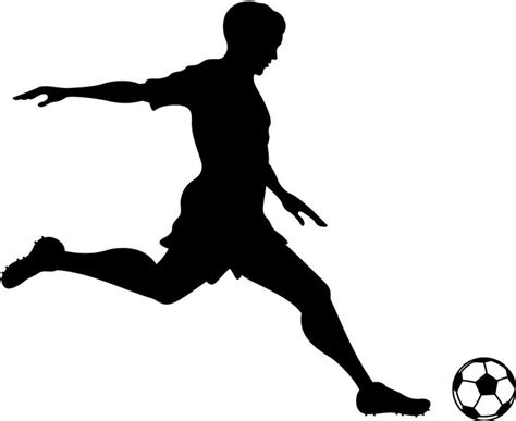 little girls soccer clipart silhouette 20 free Cliparts ...