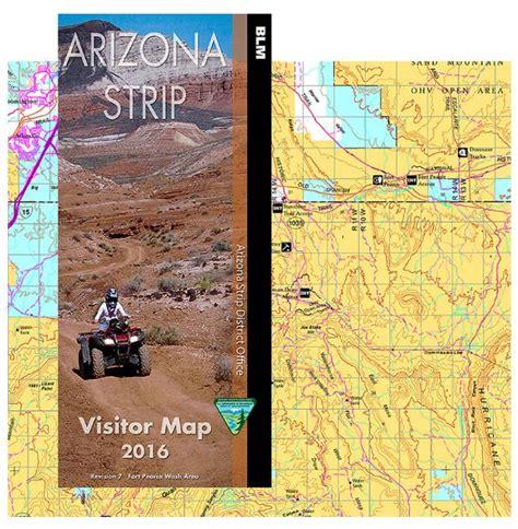 arizona strip visitor map east bureau  land management