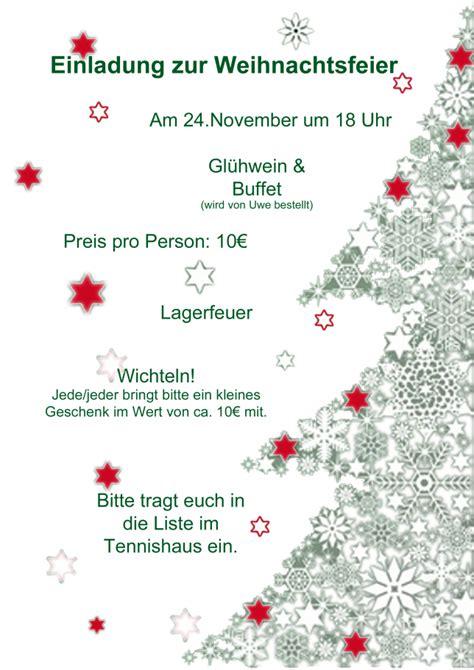 abgesagt einladung zur weihnachtsfeier   november