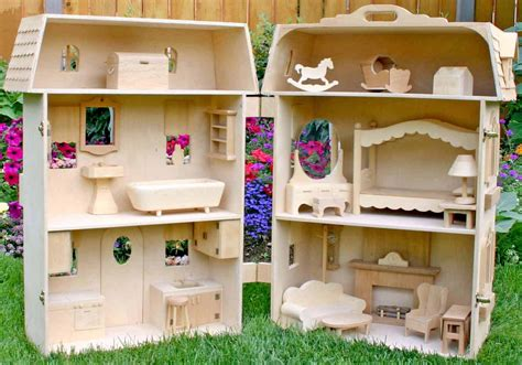 barbie house  furniture woodworking plans