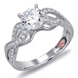 pretty engagement rings beautiful white gold engagement ring demarco bridal jewelry official