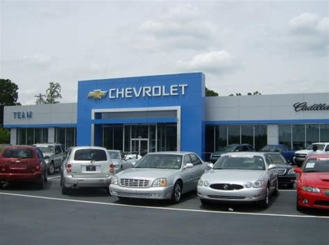 Team Chevrolet Salisbury Nc by Team Chevrolet Cadillac Buick Gmc Car Dealership In