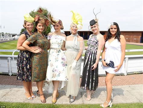 Epsom Derbyu0026#39;s Ladies Day racegoers show off their style | Daily Mail Online