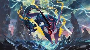 Pokemon Wallpaper Rayquaza ·①