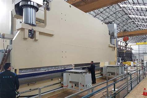 Lvd Constructs 1600ton Press Brake  Mfg Tech Update