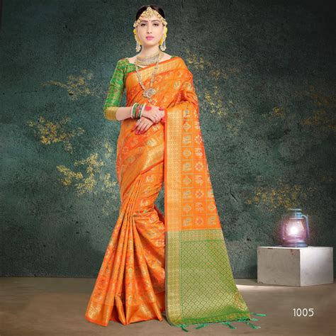 Sakti Fashion Patola Silk 1001-1008 Indian Women ...