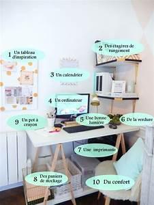 Bureaux and organisation on pinterest for Idees pour la maison 7 derniare semaine avant les vacances de no235l