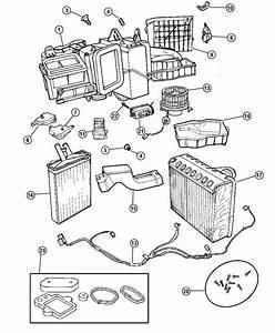 1999 Chrysler Lhs Air Conditioning Unit