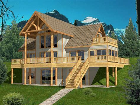 hillside house plans hillside house plans  view lake home plans treesranchcom