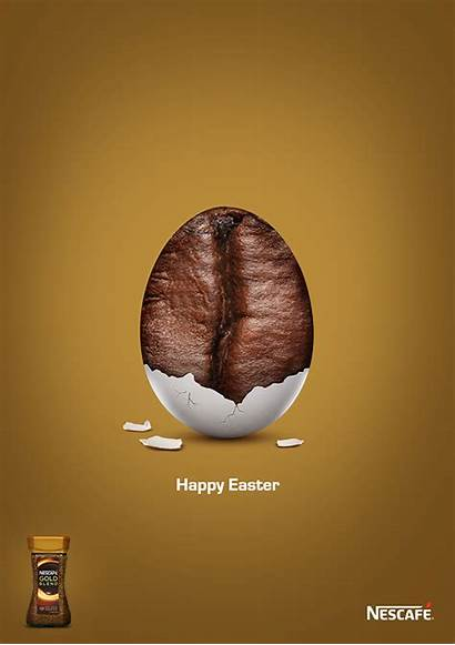 Easter Creative Advertising Ad Behance Gold Ads