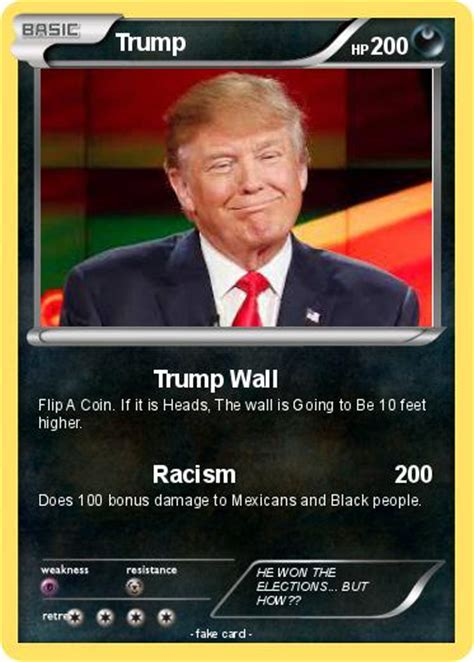 Check out trump card pokémon sword & shield data, attack name. Pokémon Trump 807 807 - Trump Wall - My Pokemon Card