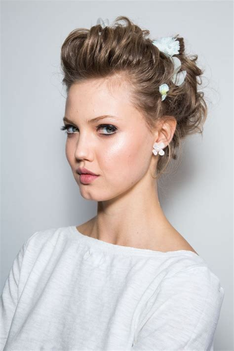 Updo Hairstyles For Prom 2014 by Zacposen Ss 2014 Nyfw Zp Summer 2014 Prom