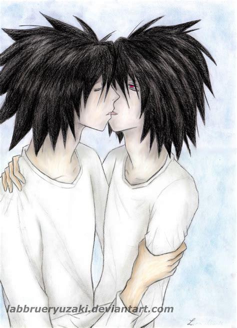 lxbb kiss by labbrueryuzaki on deviantart