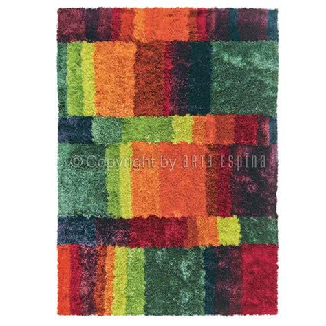 tapis poils longs funky multicolore arte espina 70x140