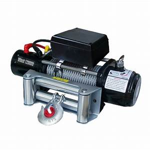 Classic 12000lbs 12v Electric Recovery Winch Truck Suv