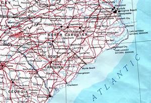 North Carolina Maps - Perry-casta U00f1eda Map Collection