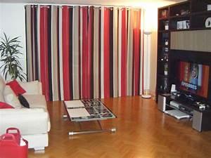 Rideau Moderne Salon : rideaux salon gris good exposition rideaux salon moderne ~ Premium-room.com Idées de Décoration