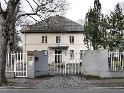 Haus Kaufen Berlin Grunewald by Botschaft Der Republik Serbien Botschaft In Berlin