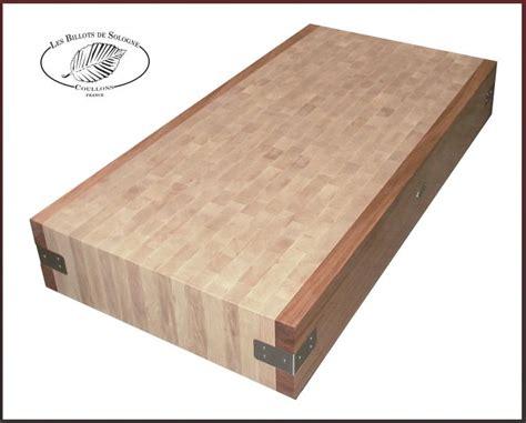 planche bois cuisine planche de boucher table de cuisine