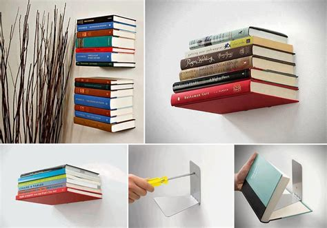 Invisible Bookshelf! No Space, But Lots Of Books
