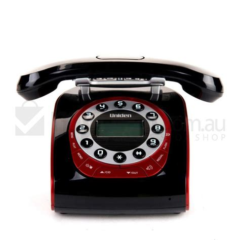 Retro Telefon Schnurlos by Black Retro Cordless Phone Uniden Modro Lcd Display Buy