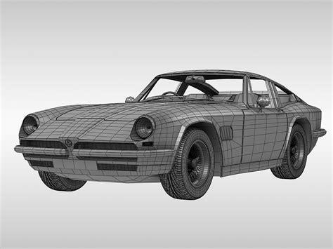 AC 428 Frua (1965 - 1973) 3D Model – Buy AC 428 Frua (1965 ...
