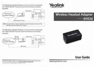 Yealink Ehs36 User Manual Pdf Download