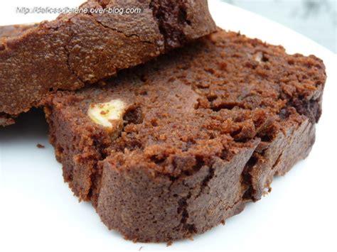 dessert avec banane et chocolat cake choco banane basilic les d 233 lices d h 233 l 232 ne