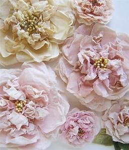 Création Avec Tissus : fleurs en tissu faire soi m me ~ Nature-et-papiers.com Idées de Décoration