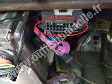 obd connector location  pontiac grand