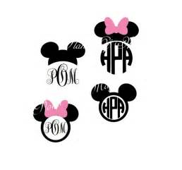 Disney Mickey Mouse SVG Files