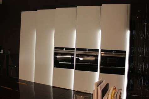 kitchen led lights white kitchen design with built in appliances and led 2136