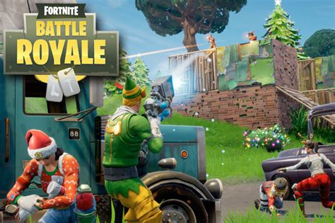 fortnite update battle royale christmas event start time
