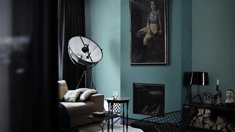 deco de chambre noir et blanc idee peinture salon noir et blanc