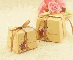 Free shipping square wedding candy boxes wedding favor for Wedding favor chocolate boxes