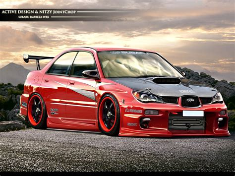 subaru custom cars beautiful car subaru impreza wrx sti wallpapers and images