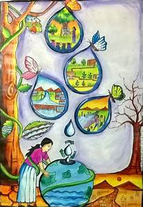 themes for painting of conservation of water resources ...