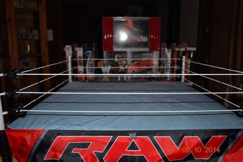 wwe elite scale ring  ringside collectibles  wwe