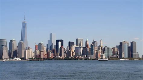 Daytime Boat Cruise Nyc by A Daytime View Of Downtown New York City Lower Manhattan
