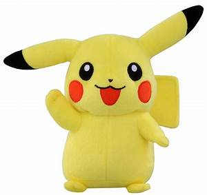 takaratomy best wishes pokemon diamond pearl plush stuffed toy pikachu 7