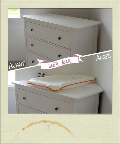 commode d angle chambre table à langer d 39 angle diy ikea hack